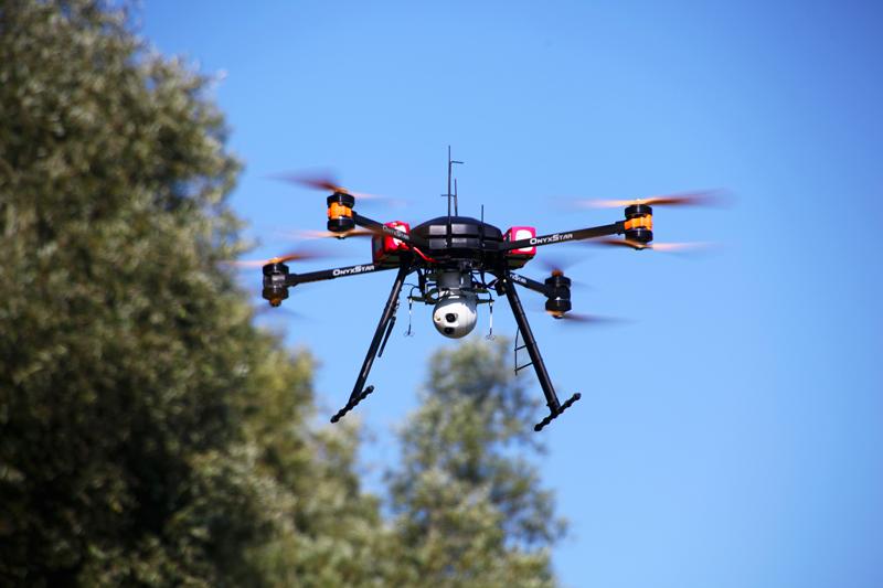 onyxstar fox c8 xt observer best surveillance multirotor drone uav - FOX-C8 XT Observer