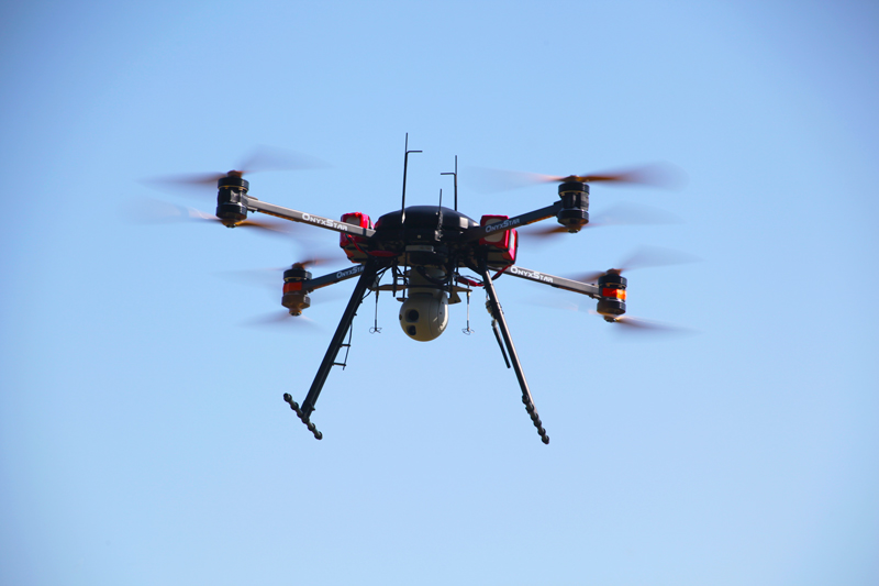 onyxstar fox c8 xt observer surveillance security drone uav - FOX-C8 XT Observer