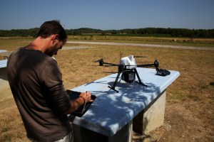Preparation of UAV Lidar survey on OnyxStar XENA drone with Yelloscan Surveyor Lidar