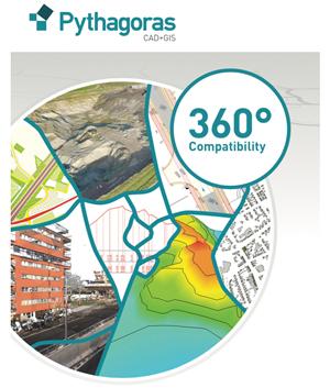 pythagoras gis sig software - Pythagoras - a powerful CAD & GIS software