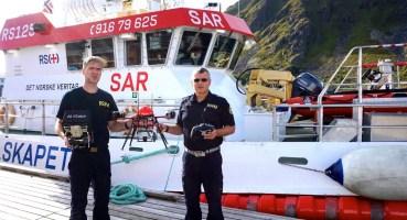 sea rescue sar norway redningsselskapet drone altigator sauvetage en mer recherche norvege uav uas rpas thermal thermique 1 1024x555 - Les drones en appui aérien pour le sauvetage en mer