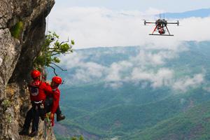 secours et recherche par drone - Les drones en mission de recherche et sauvetage