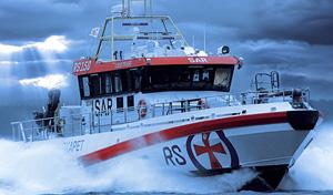 le secours en mers aidé par des drones