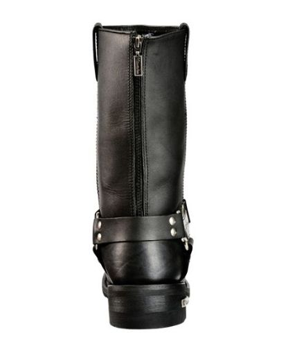 Harness boot with zipper entry
