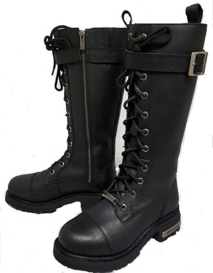 Womens tall motorcycle boot