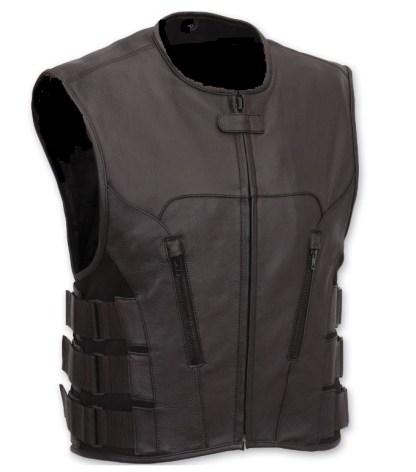 Top quality Leather Swat Vest