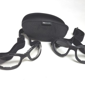 Transitional goggles