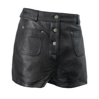 Womens Leather shorts