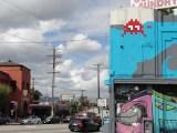 Mosaïque du Street Artist Invader situé à Los Feliz quartier de à Los Angeles - Street Art France - Street Art USA