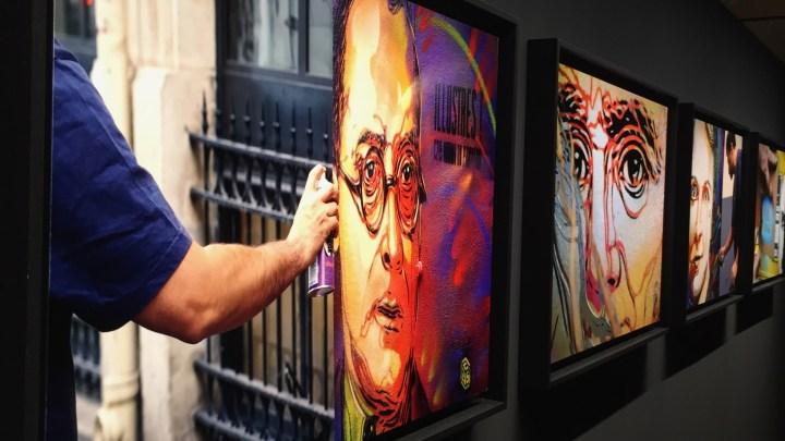 Le Street Art rentre au Panthéon avec l'artiste Christian Guémy alias C215