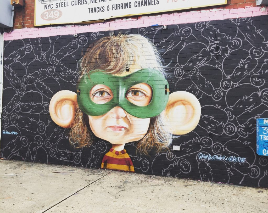 Hero of Ordinary Life by artist Sipros at Bushwick Collective - Copyright: @Altinnov