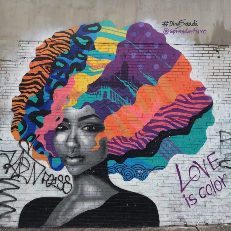Love is Color par Dina Saadi
