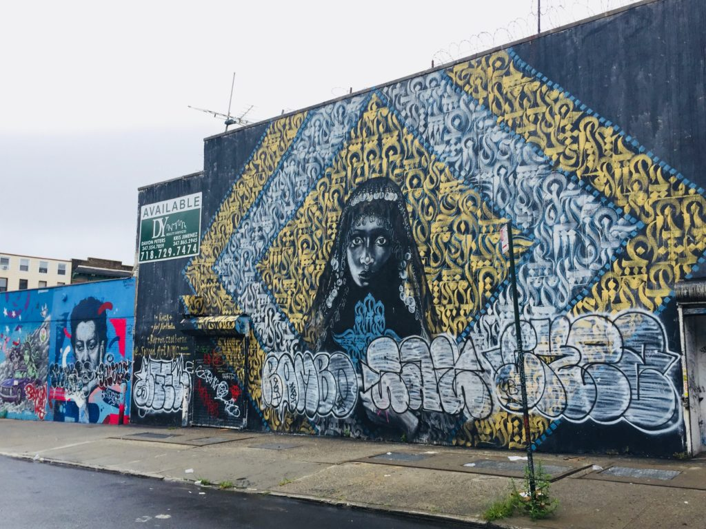 Fresco by Rocko's Arts and Joel Artista at The Bushwick Collective