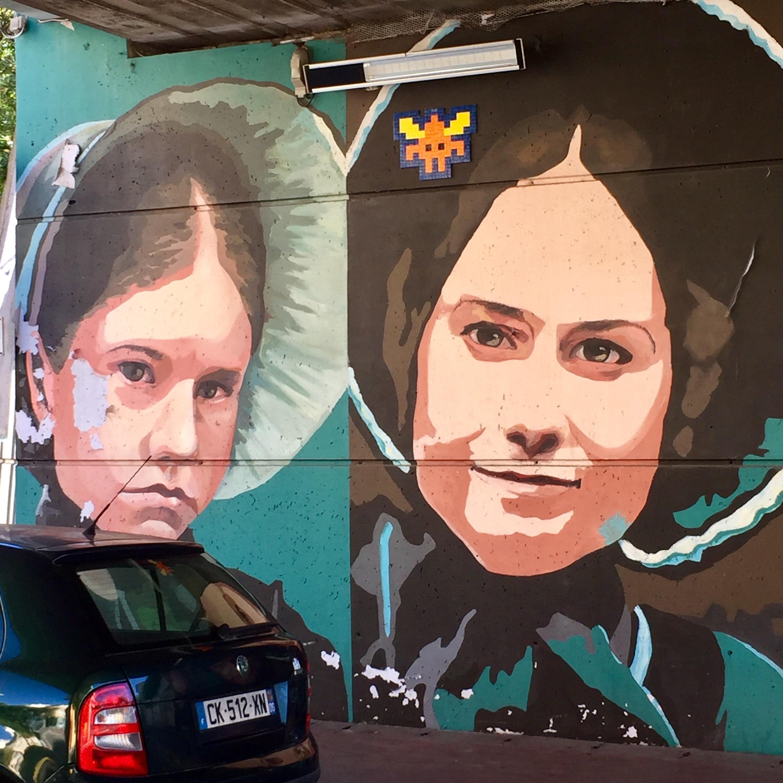 Fresque murale La leçon de piano de Jane campion