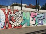 graffitis et streetart à Cadaques en Espagne