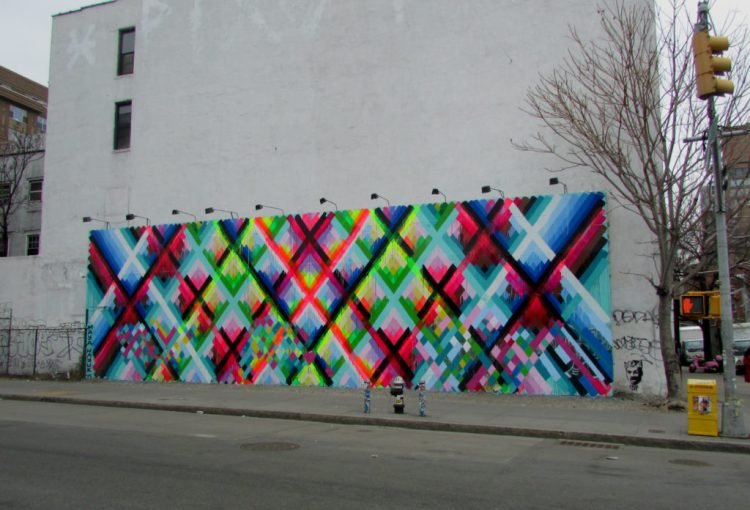 Houston bowery Wall par Maya Hayuk