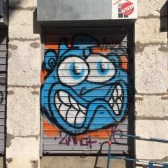 Graffiti par STERO.ide - Blaze - la croix-rousse Lyon Street Art France