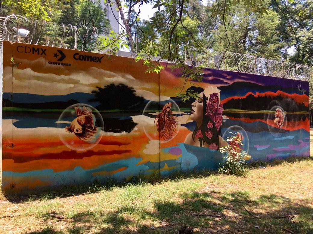 Hell_esnaiper gagnant du concours Street Art Mexico organisé par CDMX Comex Converse