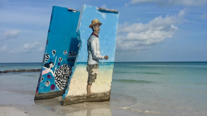 The wonderful island of Holbox in Mexico is also the Street Art' Paradise!