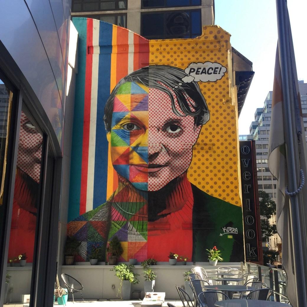 Hommage à Roy Lichtenstein - Eduardo Kobra - New York - Street Art Blog Altinnov
