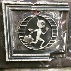 Oeuvre Street Art de Kaï réalisée à Manhattan - NYC