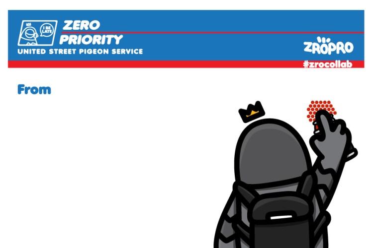 carte à colorier de l'artiste Zeroproductivity