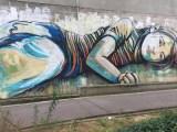 Street Art : Fresque murale réalisée par Alice Pasquini à Vitry-sur-Seine -
