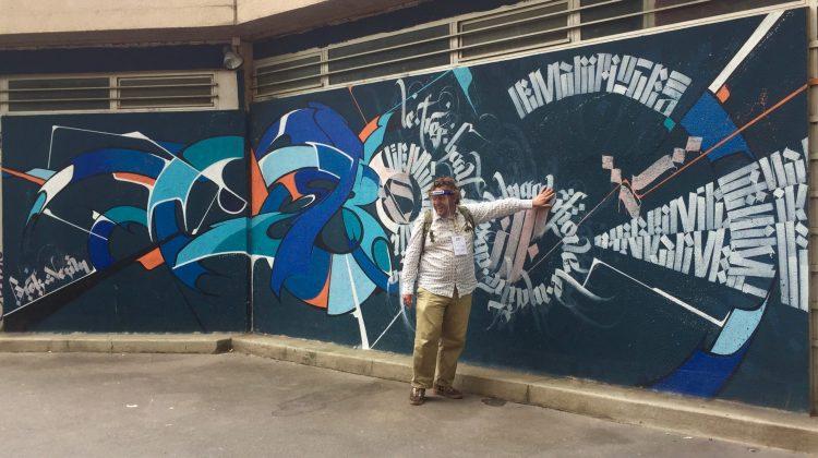 L'artiste Thom Thom en guide Street Art à Vitry-sur-Seine passionné et délicieux - Copyright @Altinnov