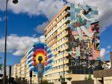 Boulevard Paris 13 : le musée du Street Art à ciel ouvert ! Fresques géantes des Street Artistes Seth & Faile