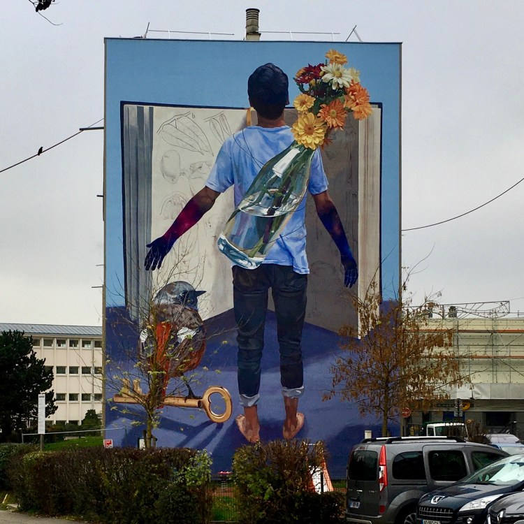 Street Art Versailles - Fresque murale de Jade Rivera - Projet #1096 Quai36
