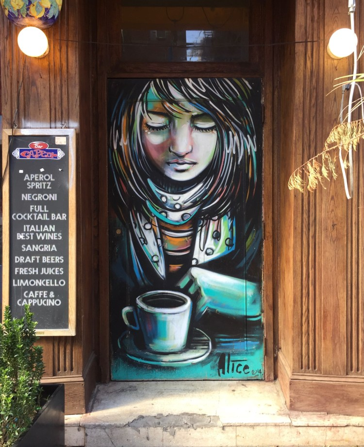 Alice Pasquini - Little Italy - NYC - The Lisa Project NYC