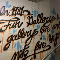 En 1981 les galleries