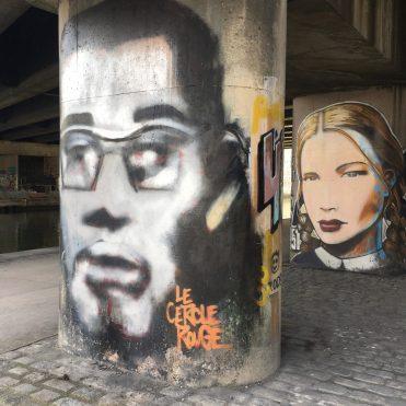 Street Art Aubervilliers - Magnifique galerie de portraits réalisés par l'artiste Jon Buzz dans le cadre de son projet 451