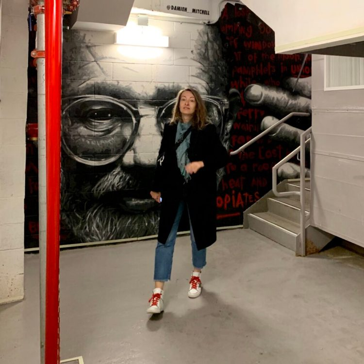 Séverine Thery fondatrice du blog de Street Art Altinnov