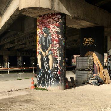 Street Art par Guaté Mao à Aubervilliers - Photo @Altinnov