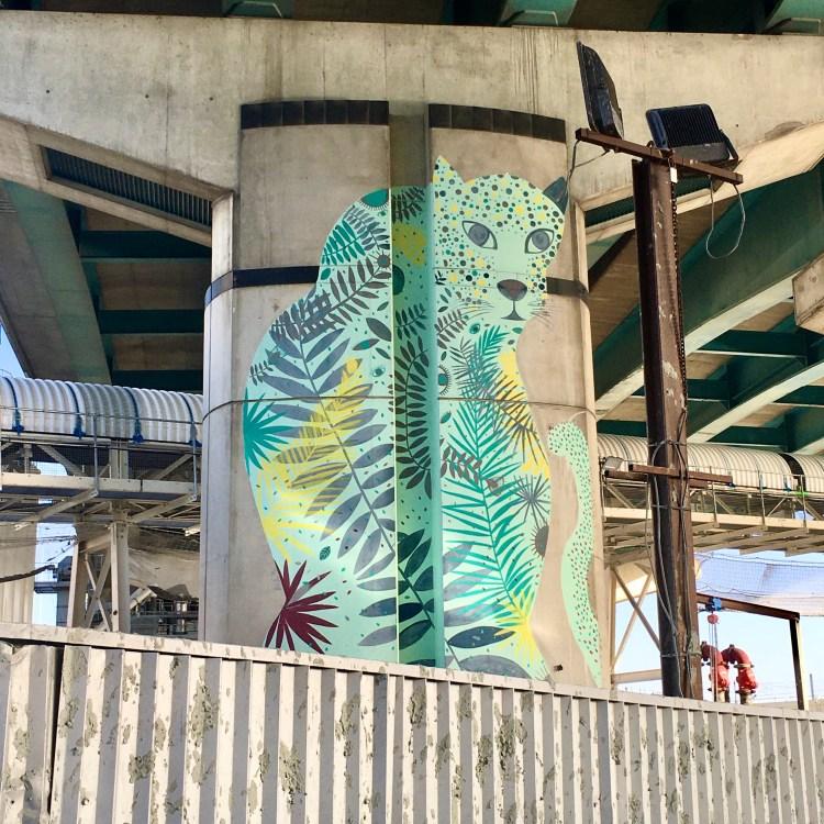 Animals par Alexandra Arango - Street Art Avenue
