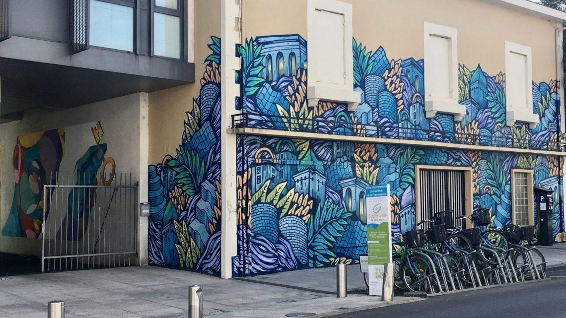 Le Street Art s'installe à Dax avec une incroyable cohérence