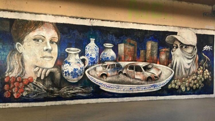Spot 13 - Spot Street Art à Paris - Fresque Murale de l'artiste S7T RBZ