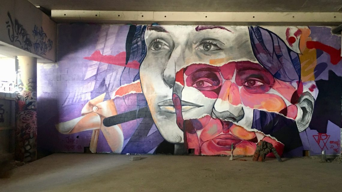 Spot 13 : This underground Street Art spot in Paris became the most fashionable place in 3 months