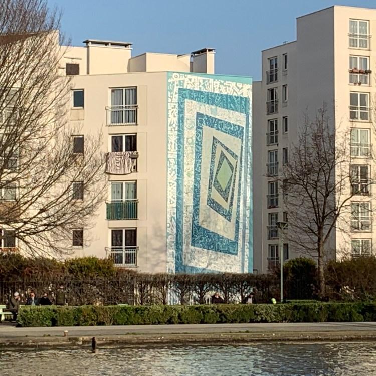 Street Art Avenue Grand Paris - Calligraphie par Tarek Benaoum
