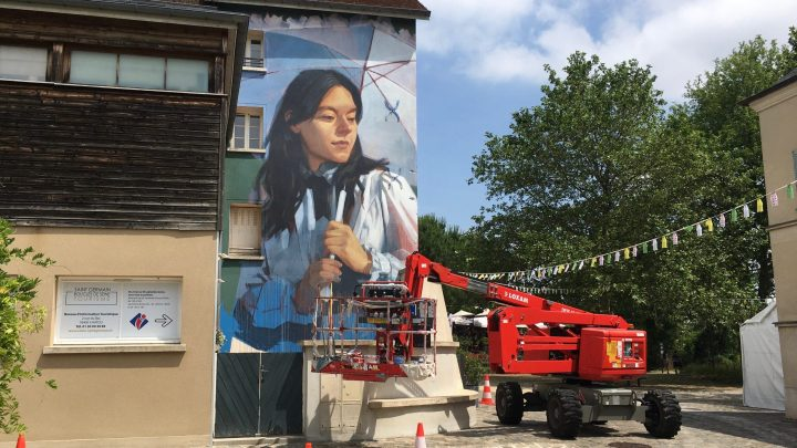 International Street Art settles in the birthplace of the Impressionists in Chatou France !