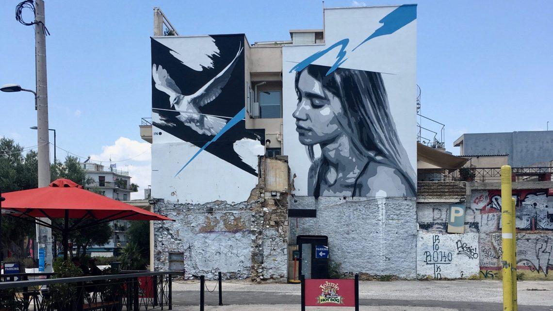 Le Street Art à Athènes est roi dans la capitale grecque en pleine mutation !