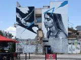 Freedom for sale - Fresque murale de l'artiste INO à Athènes - Blog street art Altinnov
