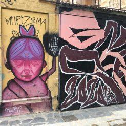 Graffitis et Street Art AThènes