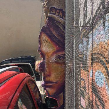 Mister Achilles artiste urbain Athènes
