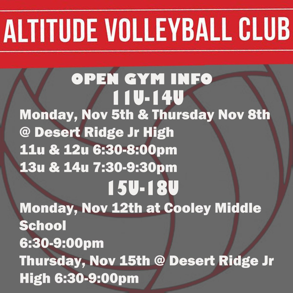 Open Gym Details