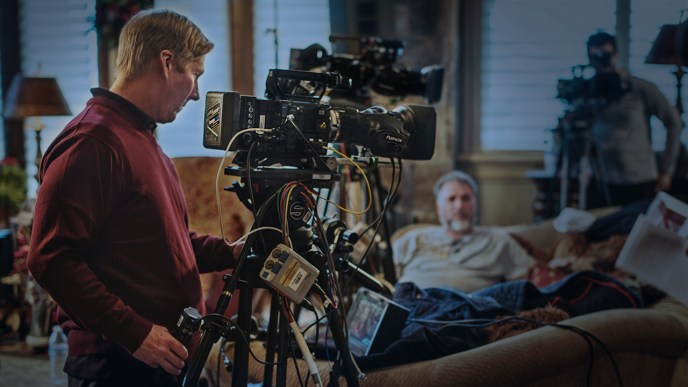 James Dalrymple Shoots with a Sony F55 Video Camera.