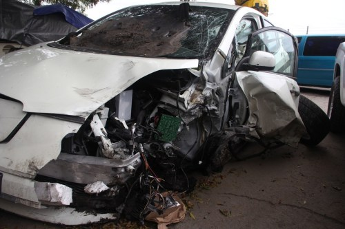 Side-Impact Auto Accident Causes TBI