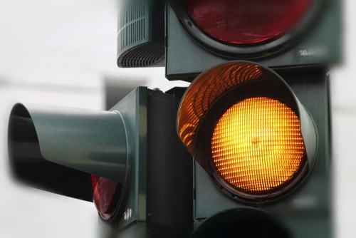 Are Yellow Traffic Lights Long Enough?