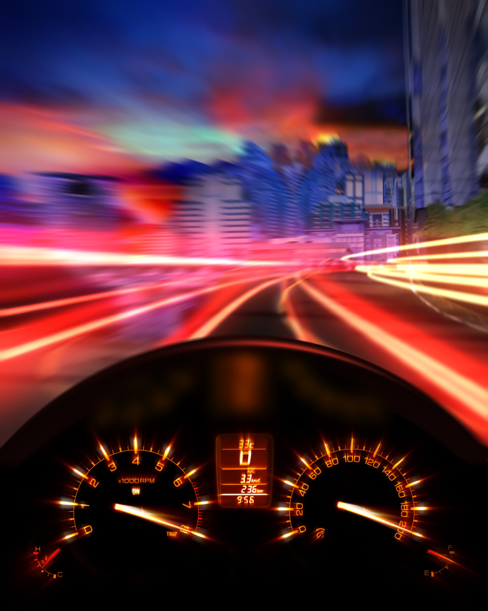 speeding car -- how to reduce accidents by 26 percent - Altizer Law
